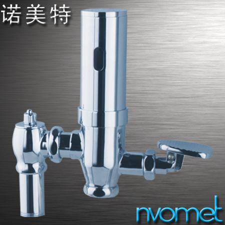 全铜镀铬明装感应蹲便节水器 NS-6136